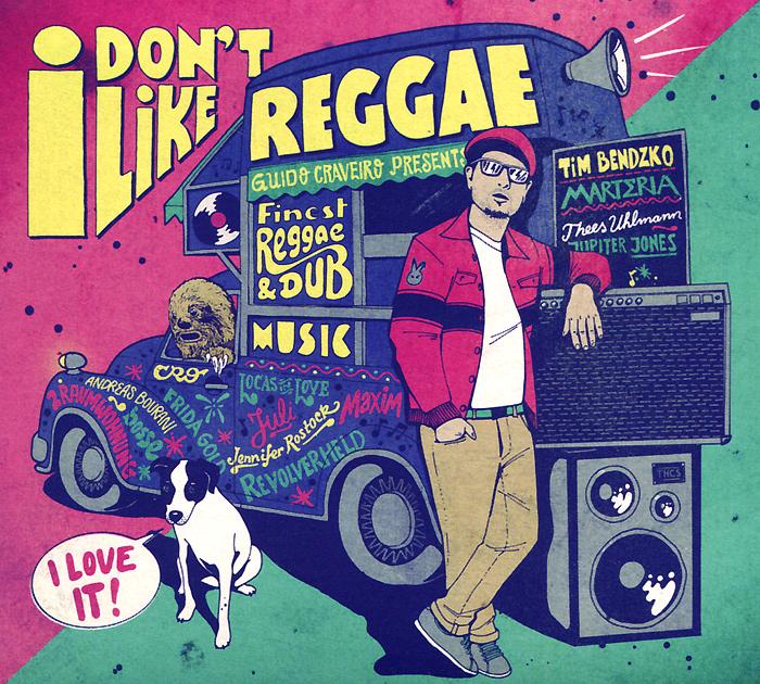 I Don'T Like Reggae браслет reggae elements lgys122
