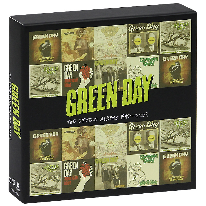 Green Day Green Day. The Studio Albums 1990-2009 (8 CD) abba the studio albums 8 lp