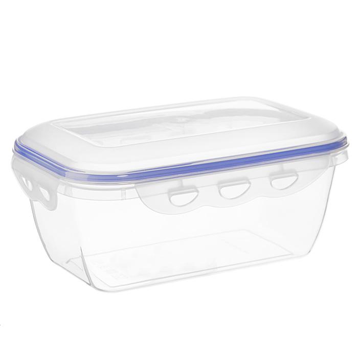 Контейнер для СВЧ NeoWay Enjoy прямоугольный, 1,6 лCP1022BПрямоугольный контейнер для СВЧ NeoWay Enjoy, выполненный из высококачественного пластика, это удобная и легкая тара для хранения и транспортировки бутербродов, порционных салатов, мяса или рыбы, горячих и холодных блюд, даже жидких продуктов. Контейнер 100% герметичен. Крышка оснащена четырьмя специальными защелками и силиконовым уплотнителем. Клипсы (защелки) позволяют произвести защелкивание более чем 400000 раз. Пустотелый силиконовый уплотнитель имеет большую гибкость и лучшее прилегание. Контейнеры могут быть вставлены один в другой, что позволяет сэкономить много пространства.Контейнер для СВЧ NeoWay Enjoy выдерживает температуру в диапазоне от -20°C до +120°C, его можно мыть в посудомоечной машине и нельзя нагревать пустым. Характеристики:Материал: пластик. Объем контейнера: 1,6 л. Размер контейнера: 21,5 см х 14 см. Высота контейнера (без учета крышки): 8,2 см. Производитель: Китай. Артикул: CP1022B.