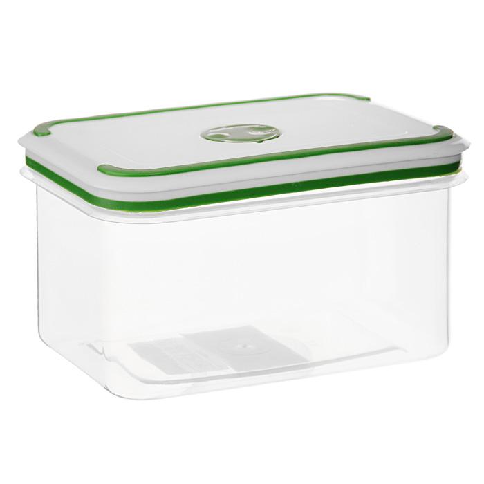 Контейнер для СВЧ NeoWay Simple control прямоугольный, 0,9 лGL9016Прямоугольный контейнер для СВЧ NeoWay Simple control выполнен из сочетания твердого и мягкого пластика, абсолютно безопасного для использования с пищевыми продуктами. Контейнер имеет инновационную крышку, обеспечивающую абсолютную герметичность и водонепроницаемость, не пропускает влагу и запахи, долго сохраняет свежесть продуктов. На крышке есть клапан для выпуска пара и антискользящие вставки для устойчивого вертикального хранения.Контейнер подойдет не только для разогревания продуктов в печи СВЧ, но и для хранения продуктов, в том числе в холодильной и морозильной камерах. Контейнер выдерживает температуру в диапазоне от -20°C до +120°, его можно мыть в посудомоечной машине и нельзя греть пустым и в режиме гриль. Характеристики:Материал: полипропилен. Объем контейнера: 0,9 л. Размер контейнера: 14,5 см х 10 см. Высота контейнера (без учета крышки): 9 см. Производитель: Китай. Артикул: GL9016.