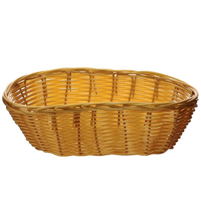 Корзинка плетеная Oriental Way Мульти, овальная, 20 см х 12 см. MJ-PP004BRMJ-PP004BRПлетеная корзинка Oriental Way Мульти изготовлена из устойчивого к воздействию окружающей среды полипропилена. Идеально подходит для хранения выпечки, конфет, фруктов, косметики, рукоделия и оформления подарков. Срок эксплуатации корзины может составлять десятки лет. Она не требует тщательного ухода, не впитывает запахи, не боится воды и не разрушается от перепада температур. Плетеная корзинка Oriental Way Мульти отлично впишется в интерьер вашего дома. Характеристики:Материал: полипропилен. Размер корзинки: 20 см х 12 см х 7 см. Производитель: Китай. Артикул: MJ-PP004BR.