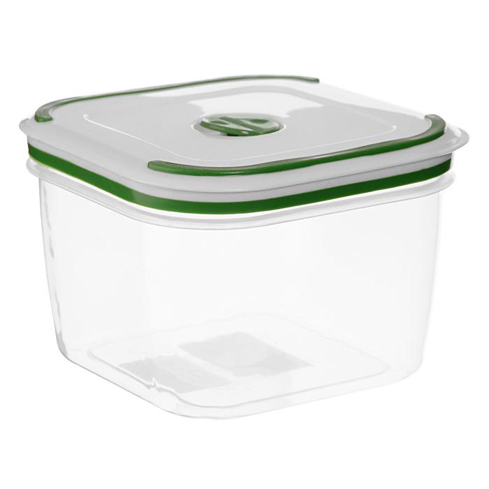 Контейнер для СВЧ NeoWay Simple control квадратный, 1,1 лGL9003Квадратный контейнер для СВЧ NeoWay Simple control выполнен из сочетания твердого и мягкого пластика, абсолютно безопасного для использования с пищевыми продуктами. Контейнер имеет инновационную крышку, обеспечивающую абсолютную герметичность и водонепроницаемость, не пропускает влагу и запахи, долго сохраняет свежесть продуктов. На крышке есть клапан для выпуска пара и антискользящие вставки для устойчивого вертикального хранения.Контейнер подойдет не только для разогревания продуктов в печи СВЧ, но и для хранения продуктов, в том числе в холодильной и морозильной камерах. Контейнер выдерживает температуру в диапазоне от -20°C до +120°, его можно мыть в посудомоечной машине и нельзя греть пустым и в режиме гриль. Характеристики:Материал: полипропилен. Объем контейнера: 1,1 л. Размер контейнера: 13 см х 13 см. Высота контейнера (без учета крышки): 9 см. Производитель: Китай. Артикул: GL9003.