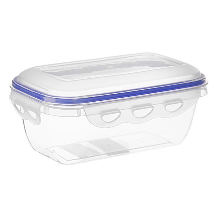 Контейнер для СВЧ NeoWay Enjoy прямоугольный, 0,8 лCP1021BПрямоугольный контейнер для СВЧ NeoWay Enjoy, выполненный из высококачественного пластика, это удобная и легкая тара для хранения и транспортировки бутербродов, порционных салатов, мяса или рыбы, горячих и холодных блюд, даже жидких продуктов. Контейнер 100% герметичен. Крышка оснащена четырьмя специальными защелками и силиконовым уплотнителем. Клипсы (защелки) позволяют произвести защелкивание более чем 400000 раз. Пустотелый силиконовый уплотнитель имеет большую гибкость и лучшее прилегание. Контейнеры могут быть вставлены один в другой, что позволяет сэкономить много пространства. Контейнер для СВЧ NeoWay Enjoy выдерживает температуру в диапазоне от -20°C до +120°C, его можно мыть в посудомоечной машине и нельзя нагревать пустым. Характеристики:Материал: пластик. Объем контейнера: 0,8 л. Размер контейнера: 18,5 см х 11 см. Высота контейнера (без учета крышки): 6,5 см. Производитель: Китай. Артикул: CP1021B.