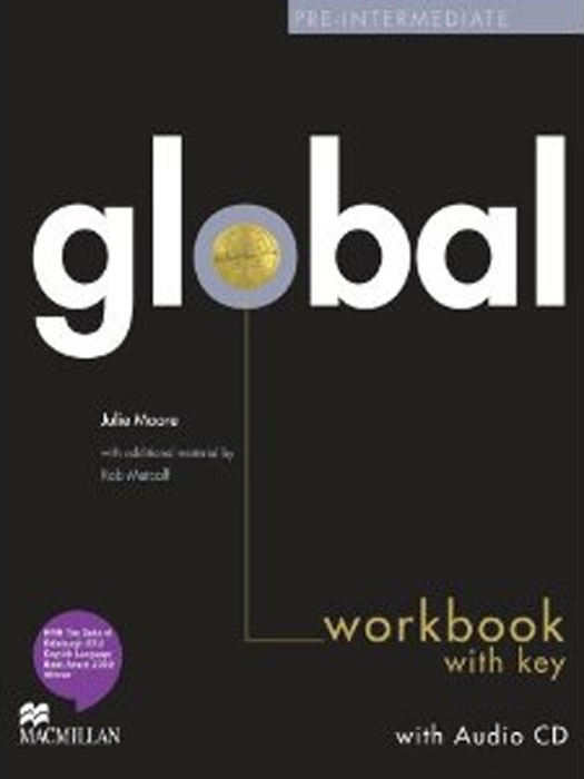 Global Pre-intermediate: Workbook with Key (+ CD-ROM) global pre intermediate workbook dvd rom