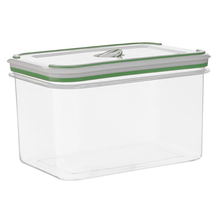Контейнер для СВЧ NeoWay Simple control прямоугольный, 1,6 лGL9012Прямоугольный контейнер для СВЧ NeoWay Simple control выполнен из сочетания твердого и мягкого пластика, абсолютно безопасного для использования с пищевыми продуктами. Контейнер имеет инновационную крышку, обеспечивающую абсолютную герметичность и водонепроницаемость, не пропускает влагу и запахи, долго сохраняет свежесть продуктов. На крышке есть клапан для выпуска пара и антискользящие вставки для устойчивого вертикального хранения.Контейнер подойдет не только для разогревания продуктов в печи СВЧ, но и для хранения продуктов, в том числе в холодильной и морозильной камерах. Контейнер выдерживает температуру в диапазоне от -20°C до +120°, его можно мыть в посудомоечной машине и нельзя греть пустым и в режиме гриль. Характеристики:Материал: полипропилен. Объем контейнера: 1,6 л. Размер контейнера: 17,5 см х 11,5 см. Высота контейнера (без учета крышки): 10,5 см. Производитель: Китай. Артикул: GL9012.