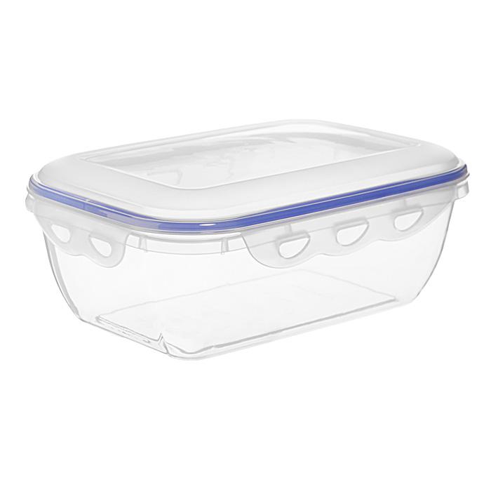"""Прямоугольный контейнер для СВЧ NeoWay """"Enjoy"""", выполненный из высококачественного пластика, это удобная и легкая тара для хранения и транспортировки бутербродов, порционных салатов, мяса или рыбы, горячих и холодных блюд, даже жидких продуктов. Контейнер 100% герметичен. Крышка оснащена четырьмя специальными защелками и силиконовым уплотнителем. Клипсы (защелки) позволяют произвести защелкивание более чем 400000 раз. Пустотелый силиконовый уплотнитель имеет большую гибкость и лучшее прилегание. Контейнеры могут быть вставлены один в другой, что позволяет сэкономить много пространства.  Контейнер для СВЧ NeoWay """"Enjoy"""" выдерживает температуру в диапазоне от -20°C до +120°C, его можно мыть в посудомоечной машине и нельзя нагревать пустым.   Характеристики:  Материал: пластик. Объем контейнера: 2,5 л. Размер контейнера: 25 см х 17 см. Высота контейнера (без учета крышки): 8,2 см. Производитель: Китай. Артикул: CP1023A."""