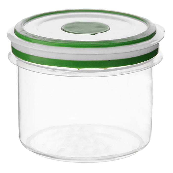 Контейнер для СВЧ NeoWay Simple control круглый, 0,65 лGL9058Круглый контейнер для СВЧ NeoWay Simple control выполнен из сочетания твердого и мягкого пластика, абсолютно безопасного для использования с пищевыми продуктами. Контейнер имеет инновационную крышку, обеспечивающую абсолютную герметичность и водонепроницаемость, не пропускает влагу и запахи, долго сохраняет свежесть продуктов. На крышке есть клапан для выпуска пара и антискользящие вставки для устойчивого вертикального хранения.Контейнер подойдет не только для разогревания продуктов в печи СВЧ, но и для хранения продуктов, в том числе в холодильной и морозильной камерах. Контейнер выдерживает температуру в диапазоне от -20°C до +120°, его можно мыть в посудомоечной машине и нельзя греть пустым и в режиме гриль. Характеристики:Материал: полипропилен. Объем контейнера: 0,65 л. Диаметр контейнера: 11 см. Высота контейнера (без учета крышки): 9 см. Производитель: Китай. Артикул: GL9058.