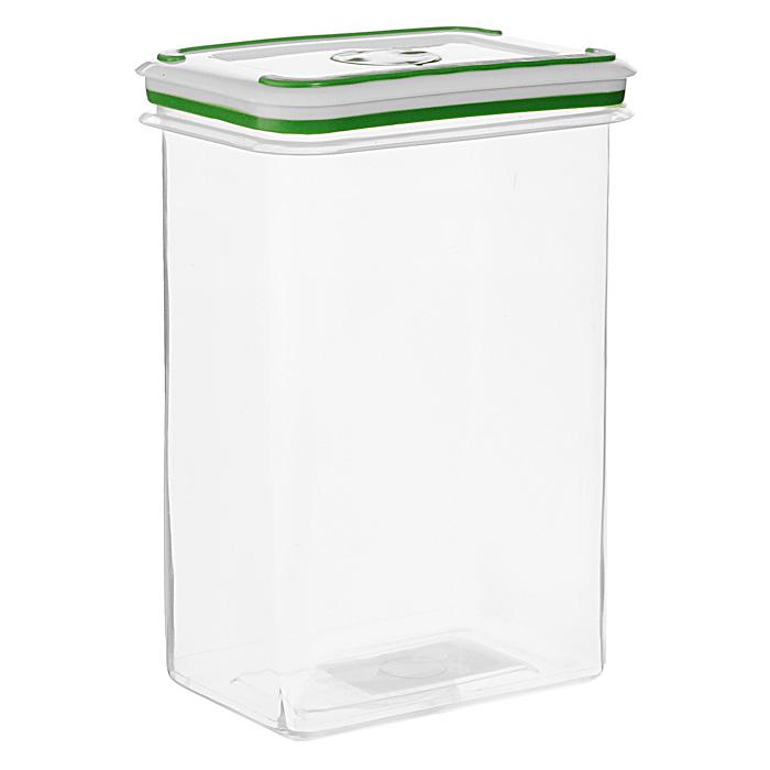 """Прямоугольный контейнер для СВЧ NeoWay """"Simple control"""" выполнен из сочетания твердого и мягкого пластика, абсолютно безопасного для использования с пищевыми продуктами. Контейнер имеет инновационную крышку, обеспечивающую абсолютную герметичность и водонепроницаемость, не пропускает влагу и запахи, долго сохраняет свежесть продуктов. На крышке есть клапан для выпуска пара и антискользящие вставки для устойчивого вертикального хранения.  Контейнер подойдет не только для разогревания продуктов в печи СВЧ, но и для хранения продуктов, в том числе в холодильной и морозильной камерах. Контейнер выдерживает температуру в диапазоне от -20°C до +120°, его можно мыть в посудомоечной машине и нельзя греть пустым и в режиме """"гриль"""". Характеристики:  Материал: полипропилен. Объем контейнера: 2,4 л. Размер контейнера: 14,5 см х 10 см. Высота контейнера (без учета крышки): 22 см. Производитель: Китай. Артикул: NR-5147-2."""