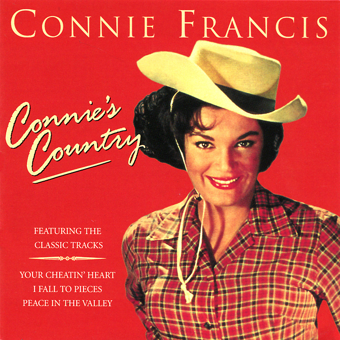 Конни Фрэнсис Connie Francis. Connie's Country francis rossi live from st luke s london blu ray