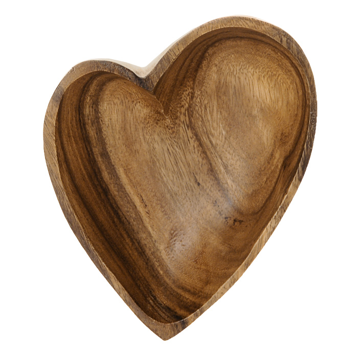 Салатница Oriental Way Oriental way С любовью 19 х 15см WD-39933WD-39933Салатница Oriental Way С любовью выполнена из высококачественного дерева в форме сердца. Она подходит как для холодных закусок, так и для масляных салатов. Салатница покрыта пищевым лаком, совершенно нетоксичным и безвредным для здоровья. Лак препятствует впитыванию влаги в изделие, тем самым продлевает срок его службы. Выбирая для дома посуду из дерева, вы получаете не только безопасность и уют натуральных материалов, но и высокое качество изделий. Оригинальный дизайн салатницы Oriental Way С любовью придется по вкусу и ценителям классики, и тем, кто предпочитает утонченность и изысканность. Такая салатница настроит на позитивный лад и подарит хорошее настроение всем, кто любит готовить.Особенности салатницы Oriental Way:- сделана из природного материала; - гармонирует с любым интерьером; - долгий срок службы; - не впитывает влагу; - не впитывает запахи; - нельзя мыть в посудомоечной машине. Характеристики:Материал: дерево. Размер салатницы: 19 см х 15 см х 5 см. Производитель: Филиппины. Артикул: WD-39933.