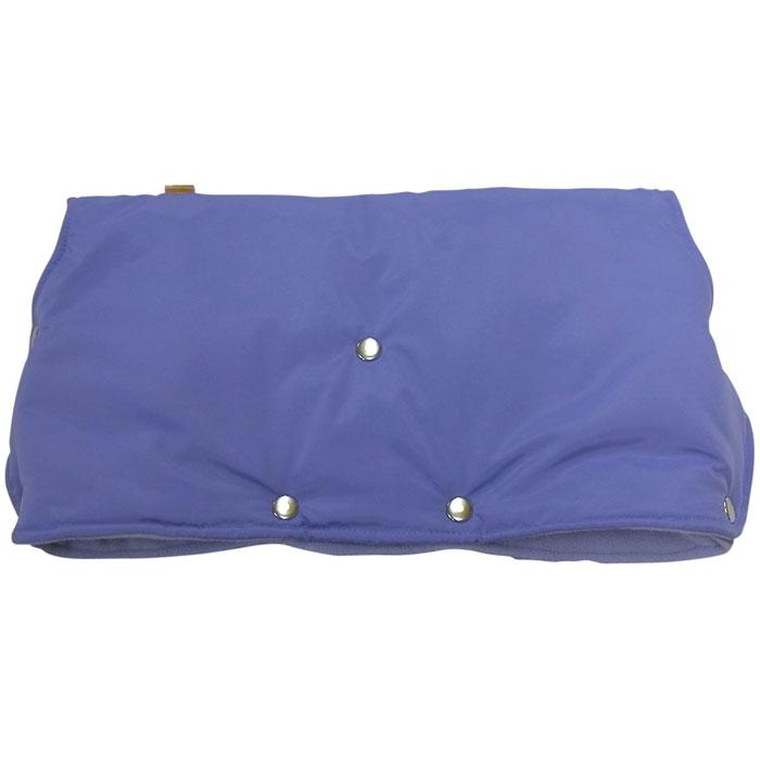 """Муфта для рук на коляску """"Чудо-Чадо"""", флисовая, цвет: голубой"""
