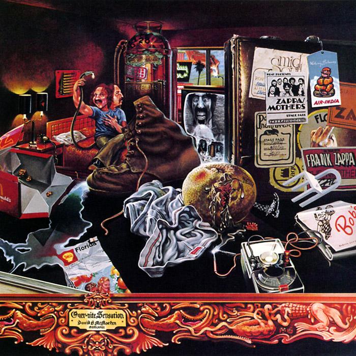 Фрэнк Заппа Frank Zappa. Over-Nite Sensation все цены