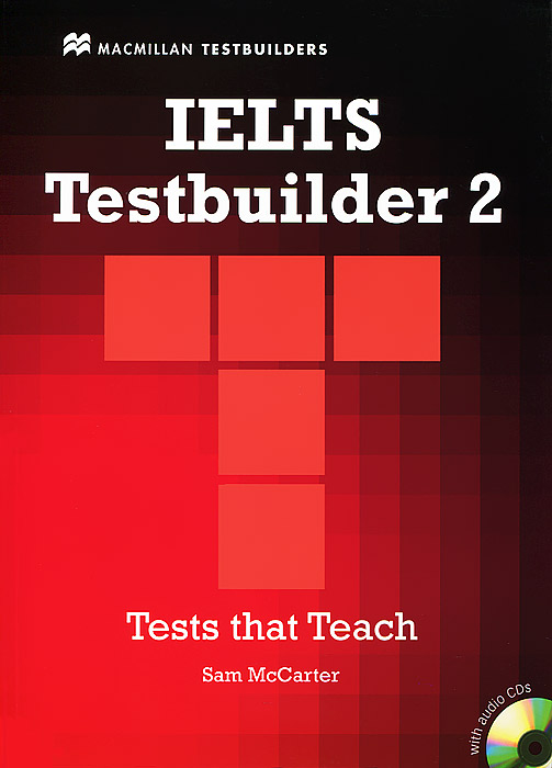 IELTS Testbuilder 2 (+ 2 CD-ROM) mccarter s ash j ielts testbuilder 1 tests that teach with key 2cd