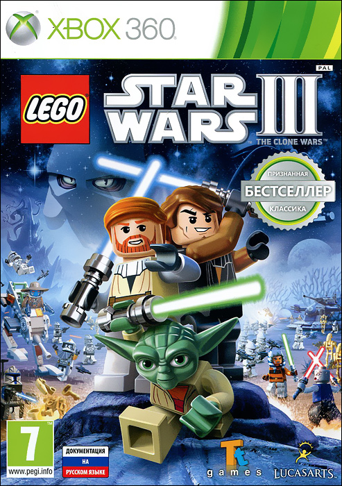 LEGO Star Wars III: The Clone Wars (Xbox 360)