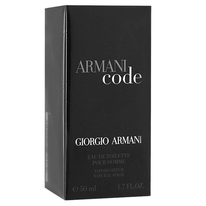 Giorgio Armani Armani Code Homme. Туалетная вода, мужская, 50 мл giorgio armani туалетная вода armani code summer eau freiche pour homme 75 ml