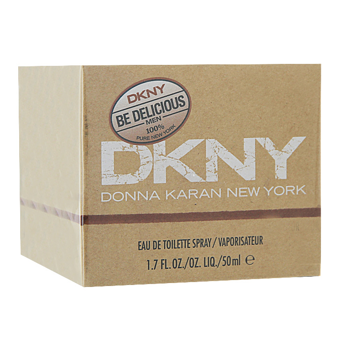 DKNY Be Delicious. Туалетная вода, 50 мл туалетная вода clean summer sailing объем 60 мл