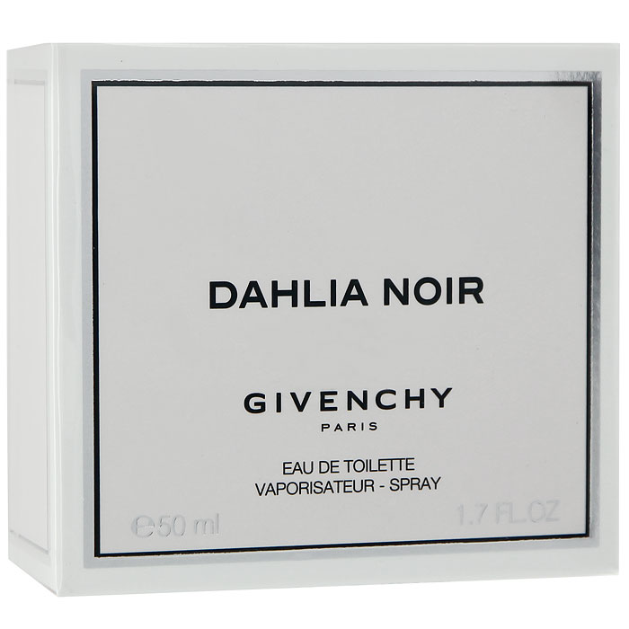 Givenchy DAHLIA NOIR Туалетная вода, женская, 50 мл givenchy hot couture парфюмерная вода 50 мл
