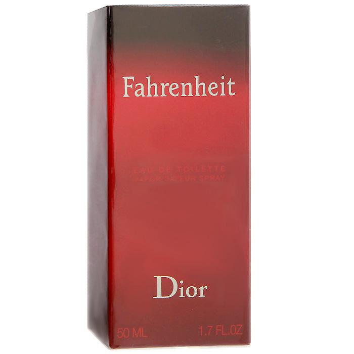 Christian Dior Fahrenheit. Туалетная вода, мужская, 50 млF006622009Мужчина Fahrenheit - это сложная эмоциональная натура. В нем мужественность открывается силой и уверенностью, сомнениями и переживаниями. Он чувственный и раскрепощенный. Fahrenheit - это аромат нового состояния души. Для композиции характерна гармония контрастов: свежие ноты сочетаются с теплыми и насыщенными, чувственные с деликатными, классические с ультрасовременными. Это аромат динамичной жизни и дальних странствий. Аромат романтиков и оптимистов. Букет аромата узнаваем и неповторим. У него много поклонников и их ряды год от года только увеличиваются.Классификация аромата: древесный.Верхние ноты: бергамот, мандарин.Ноты сердца:листья фиалки, мускатный орех, гвоздика.Ноты шлейфа:кожа, пачули, ветивер.Ключевые слова: Волнующий, мужественный, теплый! Характеристики:Объем: 50 мл. Производитель: Франция. Туалетная вода - один из самых популярных видов парфюмерной продукции. Туалетная вода содержит 4-10%парфюмерного экстракта. Главные достоинства данного типа продукции заключаются в доступной цене, разнообразии форматов (как правило, 30, 50, 75, 100 мл), удобстве использования (чаще всего - спрей). Идеальна для дневного использования. Товар сертифицирован.
