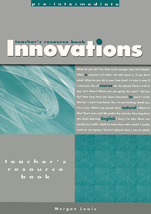 Teacher's Resouce Book for Innovations Pre-intermediate: A Course in Natural English hugh dellar andrew walkley darryl hocking innovations intermediate teacher s photocopiable resource book