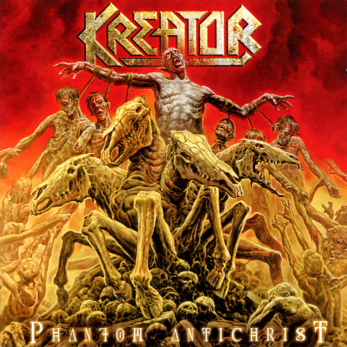 Kreator Kreator. Phantom Antichrist (2 LP) free shipping wooden tool box desk storage drawer debris cosmetic storage box bin jewelry case office creative gift home