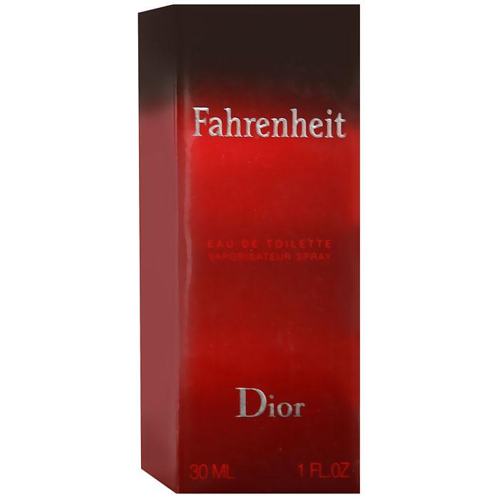 Christian Dior Fahrenheit. Туалетная вода, 30 мл01104Мужчина Fahrenheit - это сложная эмоциональная натура. В нем мужественность открывается силой и уверенностью, сомнениями и переживаниями. Он чувственный и раскрепощенный. Fahrenheit - это аромат нового состояния души. Для композиции характерна гармония контрастов: свежие ноты сочетаются с теплыми и насыщенными, чувственные с деликатными, классические с ультрасовременными. Это аромат динамичной жизни и дальних странствий. Аромат романтиков и оптимистов. Букет аромата узнаваем и неповторим. У него много поклонников и их ряды год от года только увеличиваются.Классификация аромата: древесный.Верхние ноты: бергамот, мандарин.Ноты сердца:листья фиалки, мускатный орех, гвоздика.Ноты шлейфа:кожа, пачули, ветивер.Ключевые слова: Волнующий, мужественный, теплый! Характеристики:Объем: 30 мл. Производитель: Франция. Туалетная вода - один из самых популярных видов парфюмерной продукции. Туалетная вода содержит 4-10%парфюмерного экстракта. Главные достоинства данного типа продукции заключаются в доступной цене, разнообразии форматов (как правило, 30, 50, 75, 100 мл), удобстве использования (чаще всего - спрей). Идеальна для дневного использования. Товар сертифицирован.