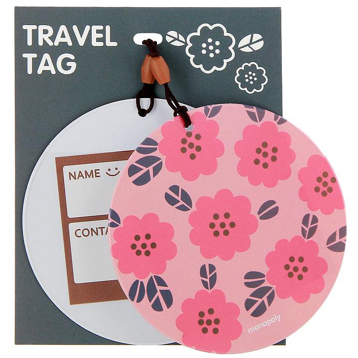Бирка на багаж Suny. D Цветы, 2 шт0907018Оригинальная бирка для чемодана Suny. D, выполненная из пластика, декорирована цветочным орнаментом. С внутренней стороны она оснащена прозрачным окошком с визиткой, на которой вы можете указать свое имя и контактные данные. Бирка крепится на прочную резинку. Бирка позволит вам быстро отыскать свой багаж на транспортерной ленте. А если ваш багаж отправится в другом направлении, яркая бирка поможет работникам аэропорта скорее найти владельца и доставить багаж. Характеристики:Материал: картон, пластик. Диаметр бирки: 9 см. Производитель: Китай.