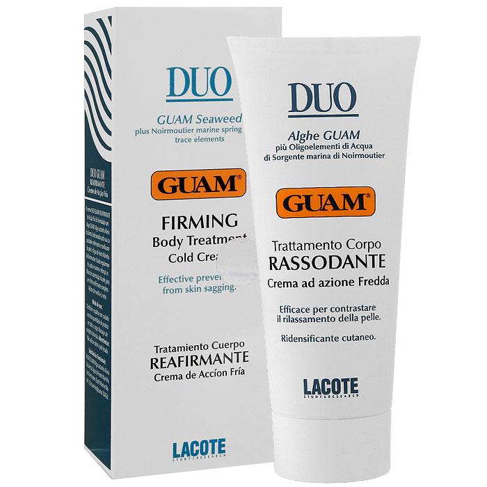 Крем для тела Guam, укрепляющий, с охлаждающим эффектом, 200 мл1733Крем для тела Lacote Guam с охлаждающим эффектом Duo эффективно восстанавливает упругость и тонус кожи. Натуральные активные компоненты крема, богаты микроэлементами, аминокислотами, содержат Omega 3-6-9 полезные для питания и защиты кожи, синтезирует волокна коллагена и эластина, что значительно повышает тонус и упругость кожи. При регулярном использовании помогает восстановить и сохранить упругость, эластичность кожи.Применение: наносить на все тело легкими массажными движениями до полного впитывания. Характеристики:Объем: 200 мл. Изготовитель: Италия. Товар сертифицирован.