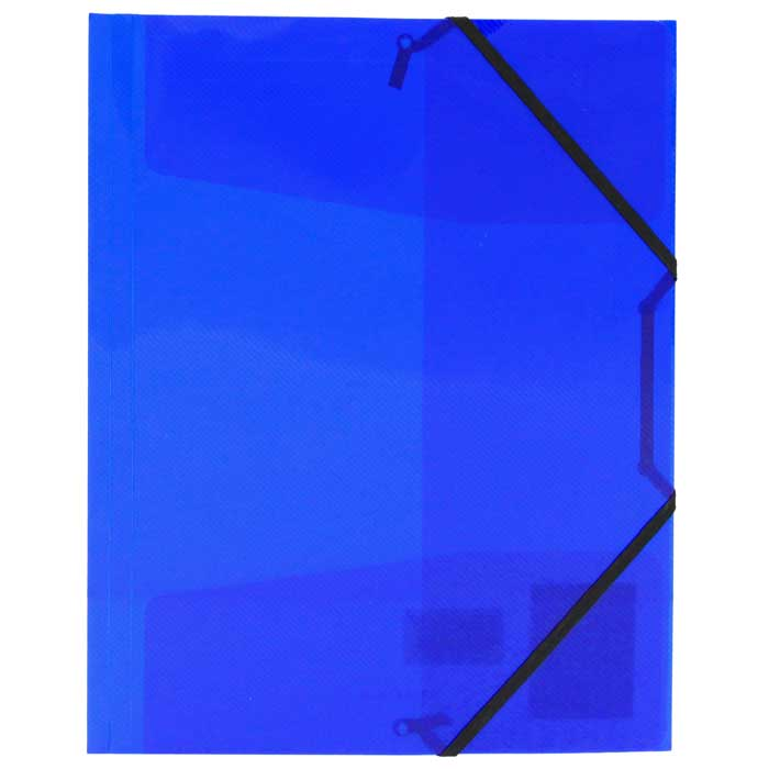 Папка на резинке Erich Krause Diagonal, цвет: синий14392Папка Erich Krause Diagonal с тремя клапанами - удобный и практичный офисный инструмент, предназначенный для хранения и транспортировки рабочих бумаг и документов формата А4. Папка изготовлена из полупрозрачного глянцевого пластика синего цвета срифленой поверхностью и закрывается при помощи угловых резинок. Согнув клапаны по линии биговки, можно легко увеличить объем папки, что позволит вместить большее количество документов. С такой папкой ваши документы всегда будут в полном порядке! Характеристики:Материал: пластик, текстиль. Цвет: синий. Размер папки: 32 см х 22,5 см x 3,5 см. Изготовитель: Китай.