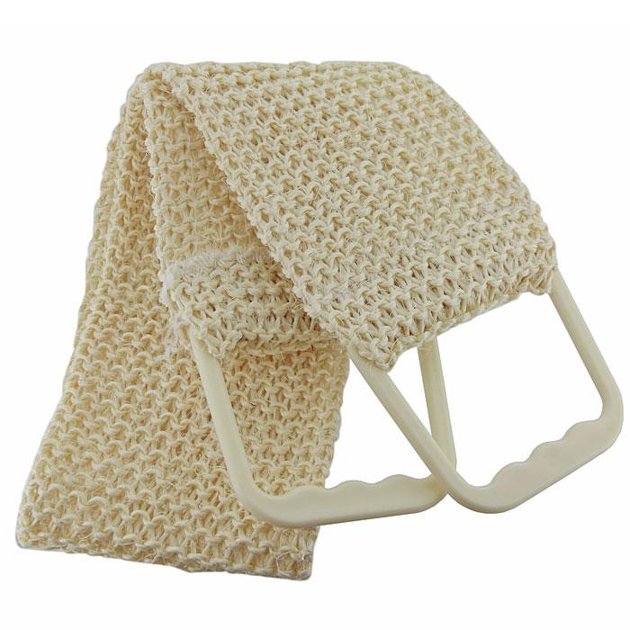 Мочалка-пояс массажная Riffi, вязаная. 170170Мочалка-пояс Riffi используется для сухого и влажного массажа. Связанная из волокна мексиканского сизаля, она увеличивает глубину антициллюлитного и тонизирующего массажа на кожу, подкожный слой и мышцы. Для удобства применения пояс снабжен двумя пластиковыми ручками. Благодаря отшелушивающему эффекту мочалки-пояса, кожа освобождается от отмерших клеток, становится гладкой, упругой и свежей. Интенсивный и пощипывающе свежий массаж тела с применением Riffi стимулирует кровообращение, активирует кровоснабжение, способствует обмену веществ, что в свою очередь позволяет себя чувствовать бодрым и отдохнувшим после принятия душа или ванны. Riffi регенерирует кожу, делает ее приятно нежной, мягкой и лучше готовой к принятию косметических средств. Приносит приятное расслабление всему организму. Борется со спазмами и болями в мышцах, предупреждает образование целлюлита и обеспечивает омолаживающий эффект. Характеристики:Материал: 100% алоэ-сизаль, пластик. Общая длина пояса (с учетом ручек): 90,5 см. Ширина пояса: 11 см. Производитель: Германия. Артикул:170. Товар сертифицирован.