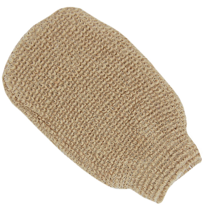 Мочалка-рукавица массажная Riffi, вязаная. 202