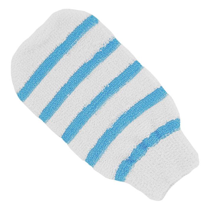 Мочалка-рукавица Riffi, с массажными полосками, цвет: белый406Мочалка-рукавица Riffi применяется для мытья тела, благодаря массажным полоскам обладает активным пилинговым действием, тонизируя, массируя и эффективно очищая вашу кожу. Интенсивный и пощипывающий свежий массаж тела с применением мочалки Riffi усиливает кровообращение, активирует кровоснабжение и улучшает общее самочувствие. Благодаря отшелушивающему эффекту, кожа освобождается от отмерших клеток, становится гладкой, упругой и свежей. Мочалка-рукавица Riffi приносит приятное расслабление всему организму. Борется с болями и спазмами в мышцах, а также эффективно предупреждает образование целлюлита.Состав: 85% хлопок, 15% полиэтилен.Товар сертифицирован.