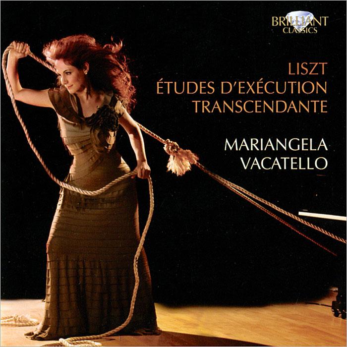 Марианжела Вакателло Mariangela Vacatello. Liszt. Etudes D'Extcution Transcendante brilliant 46984 86