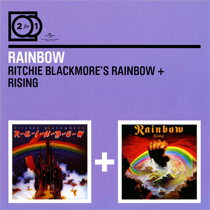 Rainbow Rainbow. Ritchie Blackmore's Rainbow / Rising (2 CD) rainbow wave projector lamp