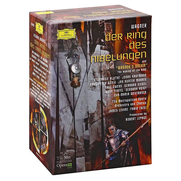 Wagner, James Levine: Der Ring Des Nibelungen (8 DVD) wagner james levine das rheingold