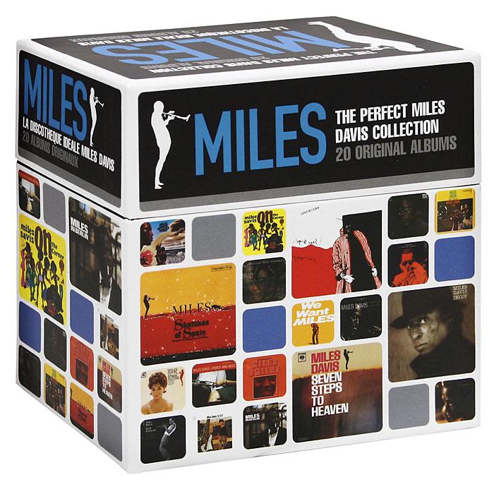 Майлз Дэвис,Orchestra Under The Direction Of Gil Evans,Miles Davis Quintet,Маркус Миллер,Билл Эванс,Фостер Ал,Майно Синелу Miles Davis. The Perfect Miles Davis Collection (22 CD) miles davis jazz cd