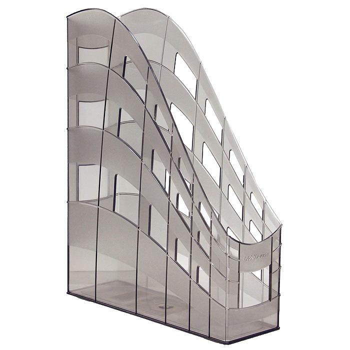 Подставка для бумаг Erich Krause  S-Wing , вертикальная, цвет: дымчатый -  Лотки, подставки для бумаг