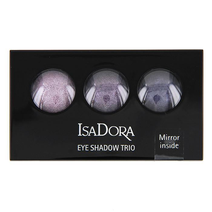 Тени для век Isa Dora Eye Trio, запеченные, 3 цвета, тон №85, цвет: тщеславный сиреневый, 1,8 г122585Запеченные тени для век от Isa Dora Eye Trio обладают уникальной формулой: невесомой текстурой и потрясающим мерцающим эффектом. Три оттенка в палетке идеально подобраны для создания восхитительного эффекта. Шелковистая консистенция создает идеально стойкое мерцающее покрытие. Насыщенная красящими пигментами формула обеспечивает яркий и стойкий цвет теней. Высококачественный двухсторонний аппликатор позволяет наносить тени и проводить контур. Характеристики: Вес: 1,8 г. Тон: №85 (тщеславный сиреневый). Производитель: Швеция. Артикул:1225. Товар сертифицирован.