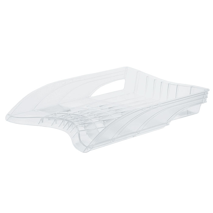 Лоток для бумаг горизонтальный Erich Krause S-Wing, цвет: прозрачный22533Лоток для бумаг Erich Krause S-Wing - незаменимый офисный атрибут. Лоток выполнен из ударопрочного прозрачного пластика с оригинальным дизайном корпуса.С лотком для бумаг S-Wing у вас больше не возникнут сложности с поддержанием порядка на столе! Характеристики:Размер лотка: 37 см x 27 см x 6 см. Изготовитель: Россия. Бренд Erich Krause - это полный ассортимент канцтоваров для офиса и школы, который гарантирует безукоризненное исполнение разных задач в процессе работы или учебы, органично и естественно сопровождает вас день за днем.Для миллионов покупателей во всем мире продукция Erich Krause стала верным и надежным союзником в реализации любых проектов и самых амбициозных планов.Высококвалифицированные специалисты Erich Krause прилагают все свои усилия, что бы каждый продукт компании прослужил максимально долго и неизменно радовал покупателей удобством и легкостью использования, надежностью в эксплуатации и прекрасным дизайном.
