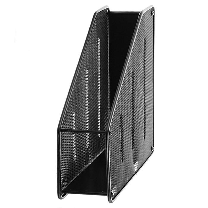 Подставка для бумаг  Erich Krause , вертикальная, цвет: черный. 22509 -  Лотки, подставки для бумаг