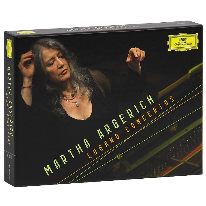 Martha Argerich. Lugano Concertos (4 CD)