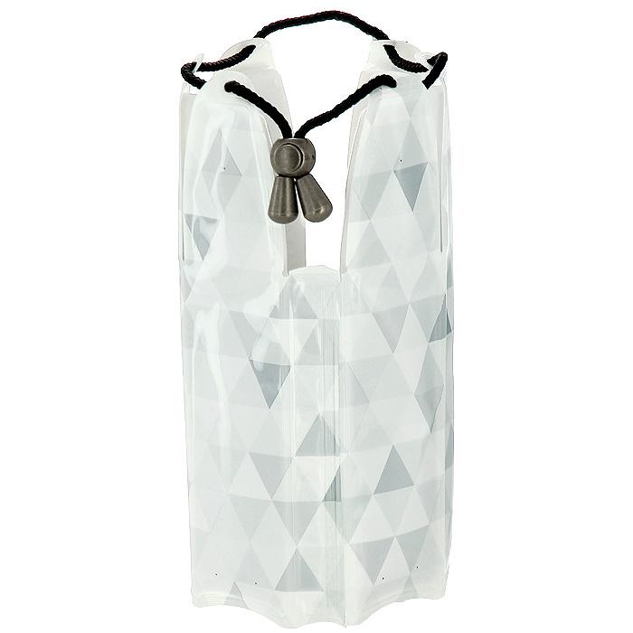 Охладительная рубашка VacuVin Rapid Ice для шампанских вин, цвет: серый бриллиант. 38852603885260Охладительная рубашка для шампанского вина VacuVin Rapid Ice представляет собой очень холодный мягкий футляр, позволяющий в среднем за 5 минут охладить бутылку шампанского емкостью 0,75 л от комнатной температуры до необходимой и поддерживать ее несколько часов. Охладительная рубашка серо-белого цвета оформлена оригинальным рисунком. Применяется она следующим образом: охладительная рубашка помещается в морозильную камеру, а когда вам требуется быстро охладить бутылку шампанского вина, она одевается на охлаждаемую бутылку и шампанское остается холодным в течение нескольких часов. Это свойство достигается благодаря нетоксичному гелю, содержащемуся внутри рубашки. Охладительная рубашка не бьется и может использоваться многократно. Характеристики:Материал: ПВХ, текстиль, гель. Высота охладительной рубашки: 22 см. Диаметр охладительной рубашки: 12 см. Размер упаковки: 24 см х 16 см х 3 см. Производитель: Нидерланды. Артикул: 3885260.