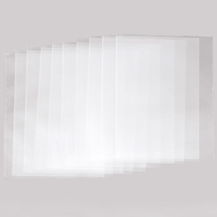 OZON.ru30637Карман Crystal Clear предназначен для хранения и транспортировки документов. Плотная высокопрозрачная пленка защищает содержимое кармана от внешних воздействий и механических повреждений, позволяя просматривать текст документа, не вынимая его изнутри. Характеристики:Размер кармана: 35 см x 22,5 см. Формат: А4. Количество: 10 шт. Изготовитель: Китай.