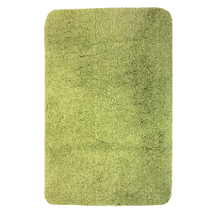 Коврик для ванной комнаты Gobi, цвет: зеленый чай, 60 х 90 см1012429Коврик для ванной комнаты Gobi цвета зеленого чая выполнен из полиэстера высокого качества. Прорезиненная основа коврика позволяет использовать его во влажных помещениях, предотвращает скольжение коврика по гладкой поверхности, а также обеспечивает надежную фиксацию ворса. Коврик добавит тепла и уюта в ваш дом. Характеристики: Материал: 100% полиэстер. Цвет:зеленый чай. Размер:60 см х 90 см. Производитель: Швейцария. Изготовитель: Китай. Артикул:1012429.