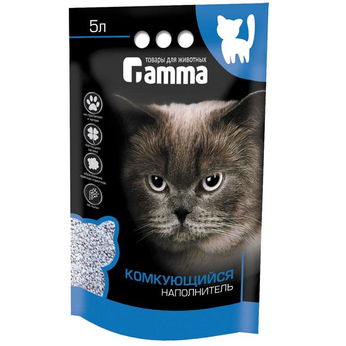 Наполнитель для кошачьего туалета Гамма, комкующийся, 5 лНг-20640Наполнитель для кошачьего туалета Гамма изготовлен по специальной технологии из натурального сырья. Мелкие гранулы активно поглощают влагу и запах, формируя крепкий комочек. Наполнитель обладает отличными антибактериальными свойствами, не вызывает аллергии, не пылит, не прилипает к лапам. Безопасен для здоровья животных и детей. Материал: бентонитовая глина. Размер гранул: 2-3 мм. Товар сертифицирован.