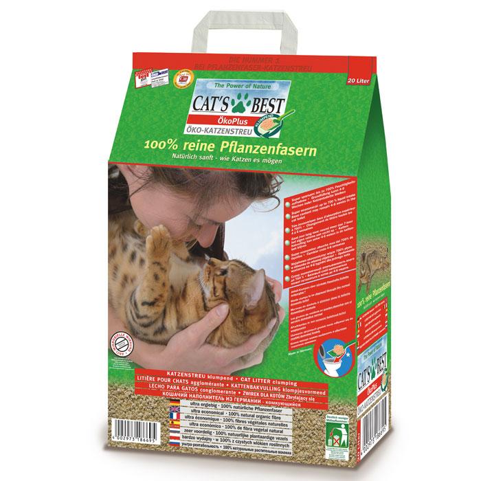 Наполнитель для кошачьего туалета Cats Best Eko Plus, древесный, 20 л12106Наполнитель для кошачьего туалета Cats Best Eko Plus вырабатывается из необработанной европейской еловой и сосновой древесины, которая берётся из свежеупавших стволов. Применение некондиционной древесины сохраняет здоровые природные лесные ресурсы.Особенности наполнителя для кошачьего туалета Cats Best Eko Plus:экологически чистый и биоразлагаемый на 100%. Вырабатывается из необработанной европейской еловой и сосновой древесины, которая берется из свежеупавших стволов. Применение некондиционной древесины сохраняет здоровые природные лесные ресурсы. Не содержит искусственных химических добавок;очень экономичный. Примерно в 3 раза выгоднее многих других комкующихся наполнителей. Он может существенно дольше оставаться в кошачьем лотке, и тем самым является более экономичной альтернативой многих, как ошибочно полагают, более дешевых наполнителей, что подтверждают сравнительные тесты;прекрасно поглощает неприятные запахи. Неприятный запах эффективно и в течение продолжительного времени связывается в капиллярной системе растительных волокон; без добавления химических веществ или ароматизаторов. Кошки любят естественный, свежий запах растительных волокон. Сделайте приятное себе, и своей кошке;впитывает в 7 раз больше собственного объема;не содержит искусственных ароматизаторов и отдушек;образует плотные комки, которые легко удаляются;утилизируется в городскую канализационную сеть;растительные волокна характеризуются приятной мягкостью и отсутствием пыли, что обеспечивает комфорт для кошачьих лап и чувствительных органов дыхания;легкий при транспортировке.Объем: 20 л. Товар сертифицирован.