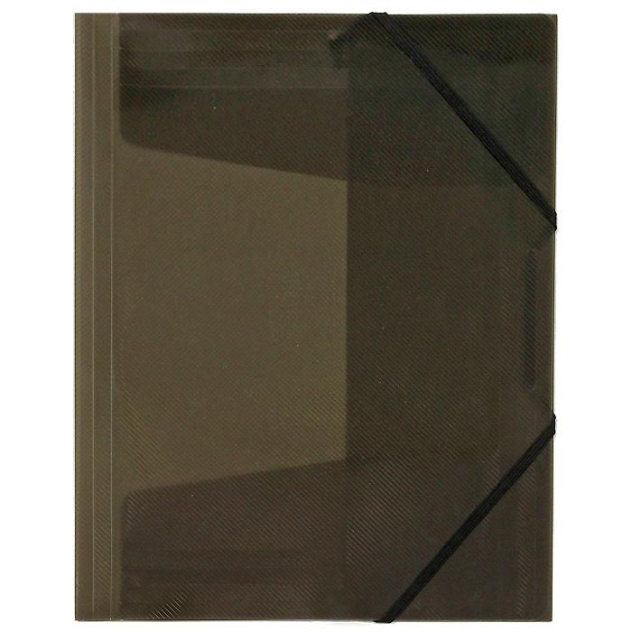 Папка на резинке Erich Krause Diagonal, цвет: коричневый папка на резинке erich krause серая упаковка 6 шт