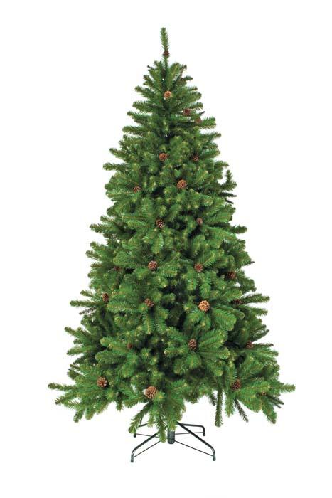Ель Триумф Императрица с Шишками, цвет: зеленый, высота 185 см73238 (088015)Искусственная ель Триумф Императрица с Шишками, выполненная из мягкого ПВХ, прекрасный вариант для оформления интерьера к Новому году. Особенности елок Triumph Tree: - высокое качество; - соответствуют стандартам безопасности стран Европы; - ветки полностью безопасны для рук - нет острых режущих концов проволоки; - особо рекомендованы для детей по условиям безопасности; - хвоя из экологически чистого синтетического материала; - не воспламеняются; - гипоаллергенны; - иголки не осыпаются, не мнутся, со временем не выцветают; - простая и быстрая сборка (разборка) благодаря цветной маркировке веток и креплений; - ветки достаточно толстые, что позволяет им не гнуться и не прогибаться под тяжестью игрушек; - ветки достаточно жесткие, легко и быстро распушаются - каждая по отдельности; - устойчивая металлическая подставка; - компактная современная прочная коробка - для многолетнего хранения; - четкие инструкции по монтажу; - срок службы более 10 лет. Ель Триумф Императрица с Шишками обязательно создаст настроение праздника. Характеристики: Материал: мягкое ПВХ, металл. Высота ели: 185 см. Диаметр ели: 107 см. Количество веток: 709 шт. Цвет: зеленый. Производитель: Голландия. Изготовитель: Таиланд. Торговая марка Triumph Тгее была создана и зарегистрирована в 1988 году. Благодаря качеству, надежности и современному дизайну искусственные деревья, производимые под торговой маркой Triumph Тгее получили признание во всем мире и стали за эти годы эталоном качества.