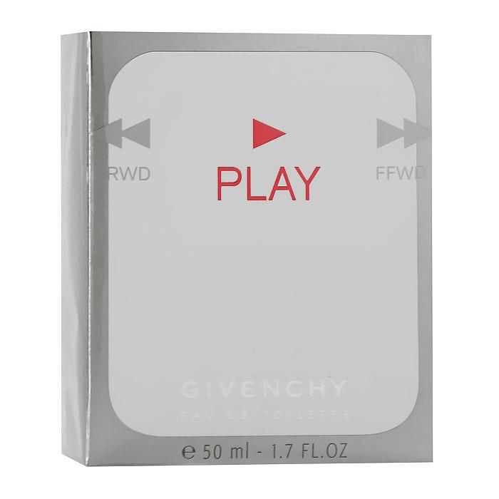 Givenchy Туалетная вода Play, мужская, 50 млP055135Выполненный в элегантном молочно-белом цвете, Play отражает характер своего обладателя. Его движения легки и стремительны, он обожает развлечения и любит привлекать к себе внимание. Авантюризм, азарт и легкий флирт - его стихия, игра - искусство, которым он владеет в совершенстве!Флакон выполнен в виде MP3-плейера.Классификация аромата: цитрусовый.Верхние ноты: бергамот, грейпфрут, горький апельсин, мандарин.Ноты сердца: древесина амириса, перец, кофе.Ноты шлейфа: ветивер, лист пачули.Ключевые слова Дерзкий, гармоничный!Туалетная вода - один из самых популярных видов парфюмерной продукции. Туалетная вода содержит 4-10%парфюмерного экстракта. Главные достоинства данного типа продукции заключаются в доступной цене, разнообразии форматов (как правило, 30, 50, 75, 100 мл), удобстве использования (чаще всего - спрей). Идеальна для дневного использования. Товар сертифицирован.Краткий гид по парфюмерии: виды, ноты, ароматы, советы по выбору. Статья OZON Гид