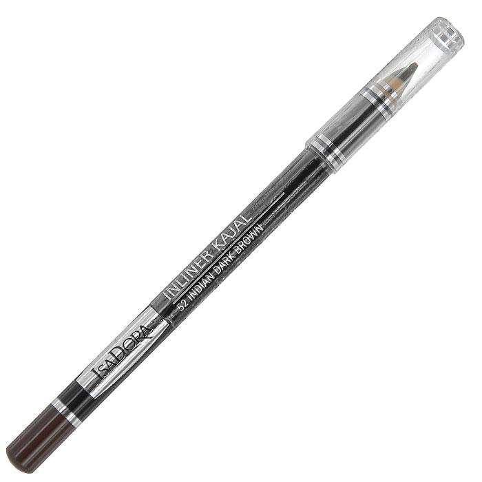Контурный карандаш для глаз Isa Dora Inliner Kajal, тон №52, цвет: индийский черно-коричневый, 1,3 г113852Контурный карандаш для глаз Isa Dora Inliner Kajal обладает специальной мягкой формулой, которая обеспечивает легкое точное нанесение. Карандаш легко растушевывается, стойкий и влагоустойчивый. Характеристики: Вес: 1,3 г. Тон: №52 (индийский черно-коричневый). Длина карандаша: 12 см. Производитель: Швеция. Артикул:1138. Товар сертифицирован.