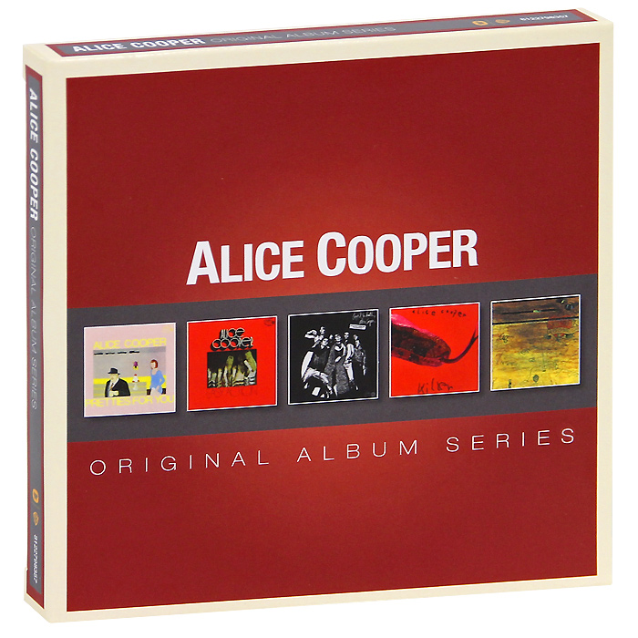Элис Купер Alice Cooper. Original Album Series (5 CD) элис купер alice cooper special forces
